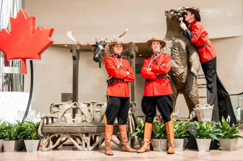 Canadian Mounty Themed Event